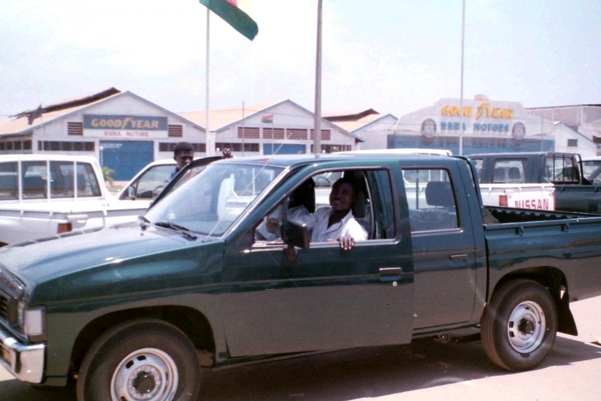 Auto voor de St.Theresa kliniek